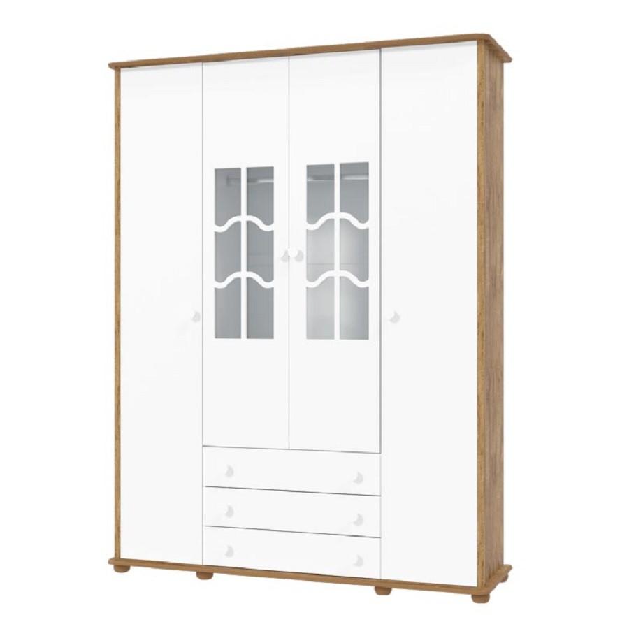Guarda Roupa 4 Portas Confort Matic Móveis