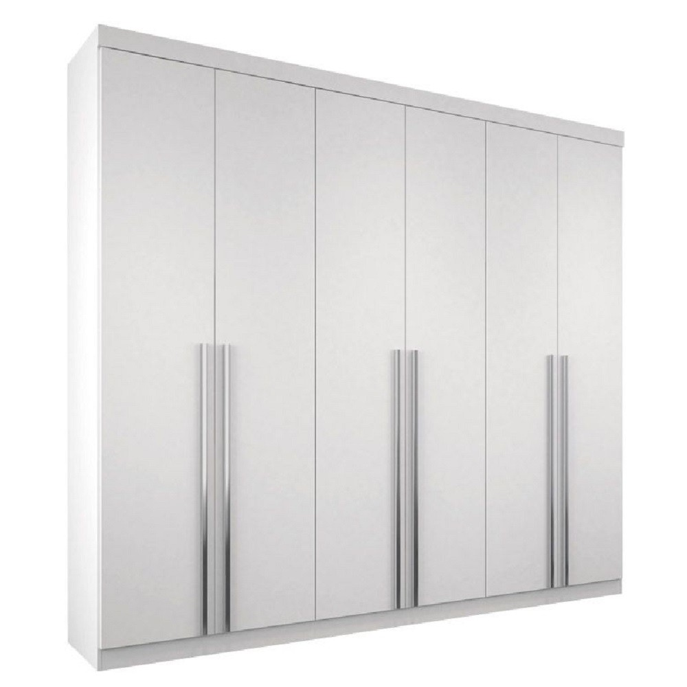 Guarda-Roupa 6 Portas e 4 gavetas  Imaginare 6.4 Santos Andirá