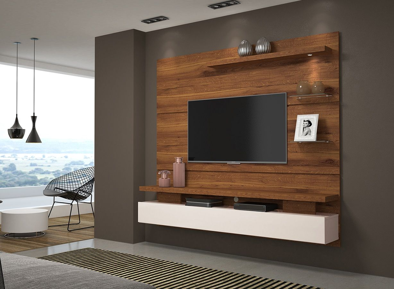 Home Theater Painel Greco Para Tv - Dj Móveis