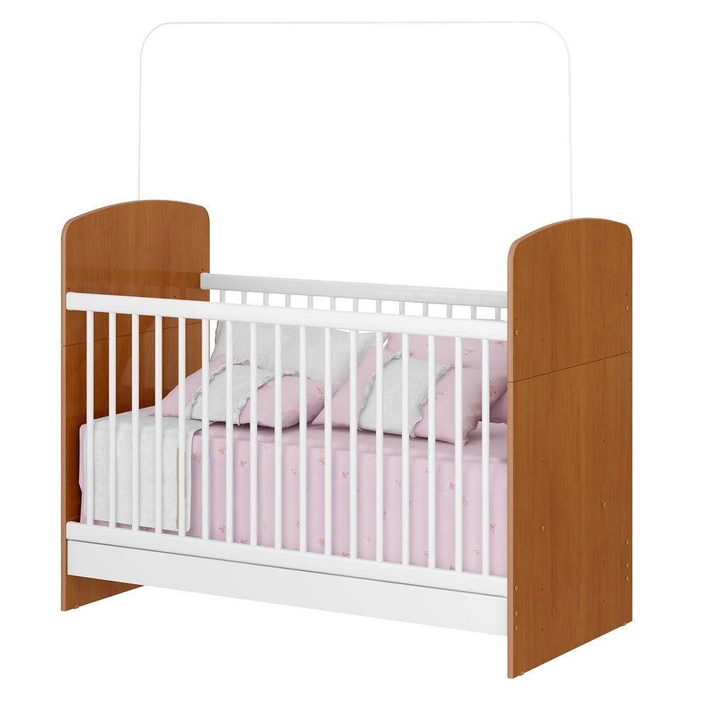 Jogo de Quarto de Bebê com Guarda Roupa, Cômoda, e Berço Mini Cama Linha Bolinha de Sabão Multimóveis