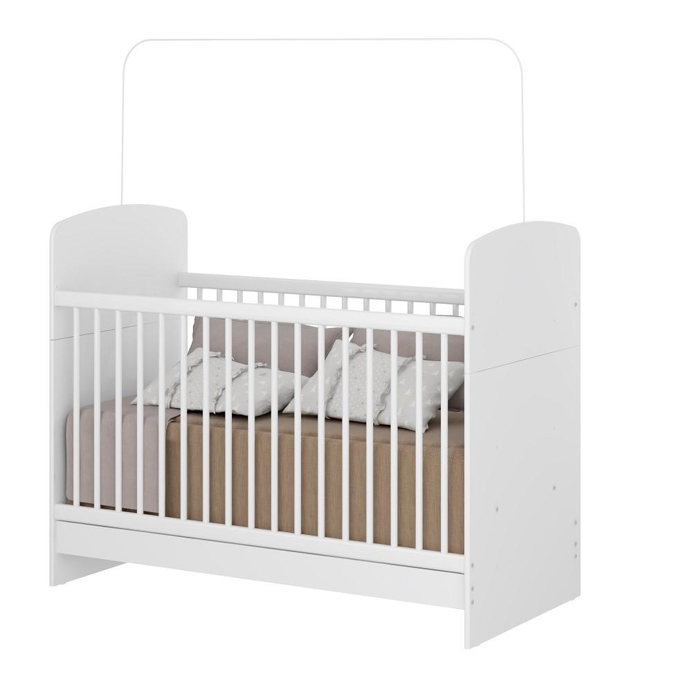 Jogo de Quarto de Bebê com Guarda Roupa-Cômoda e Berço Mini Cama Linha Golfinho Multimóveis