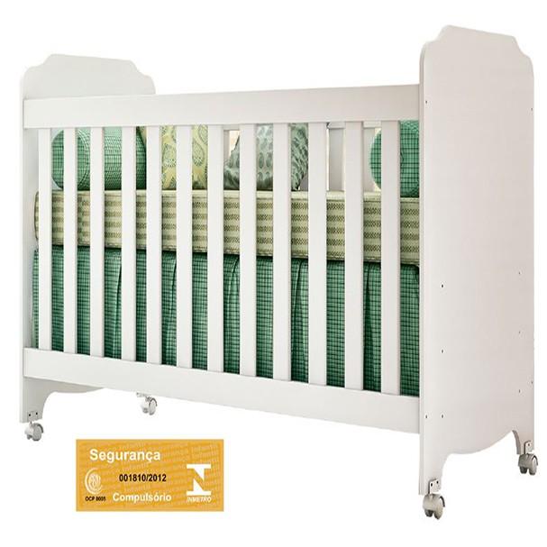 Jogo De Quarto Para Bebê Com Guarda Roupa + Cômoda Luizzi +Berço Lucca - Carolina Baby