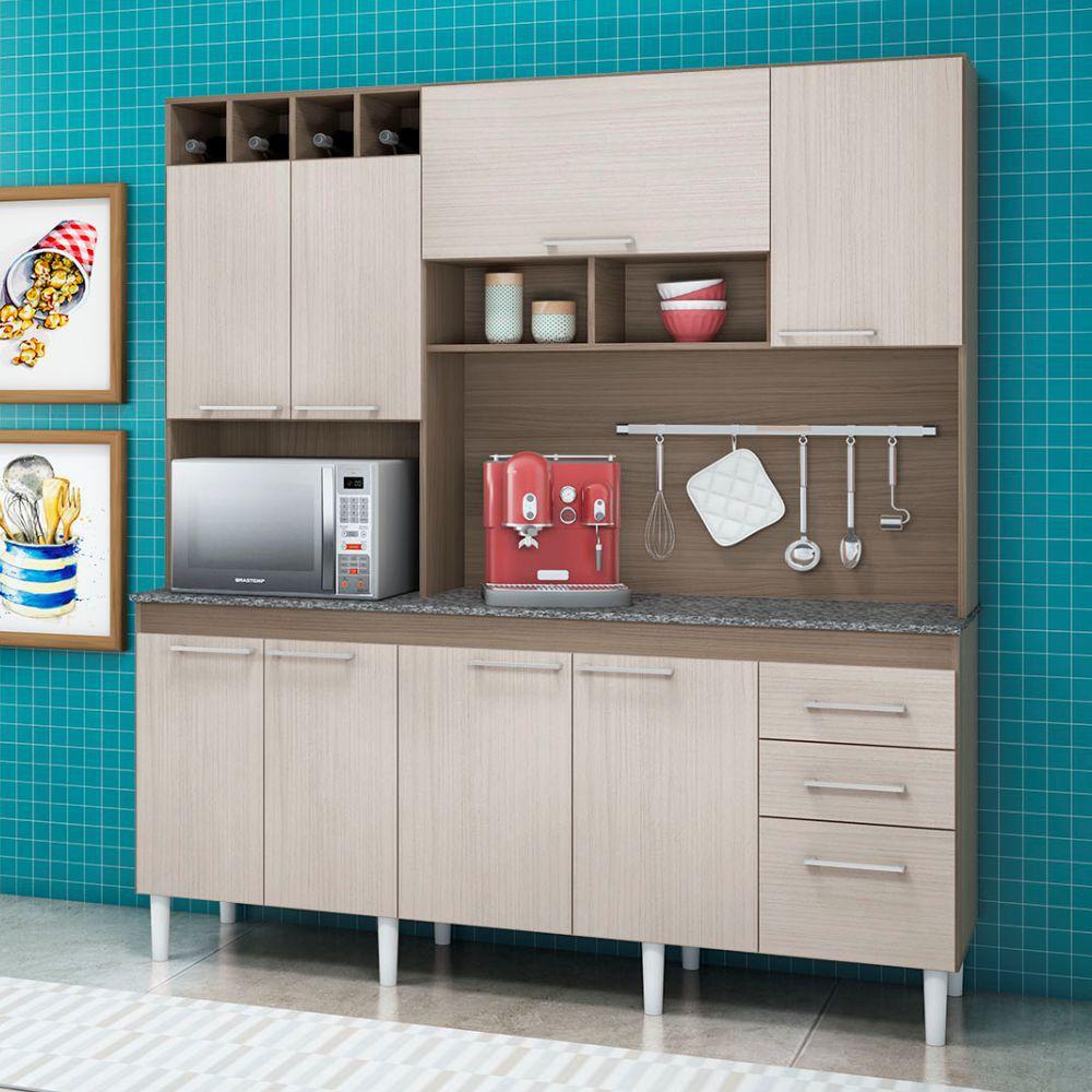Kit Cozinha Compacta Ravenna Peternella