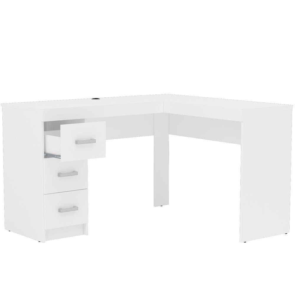 Mesa Para Escritório Fênix 3 Gaveta 1184 Politorno