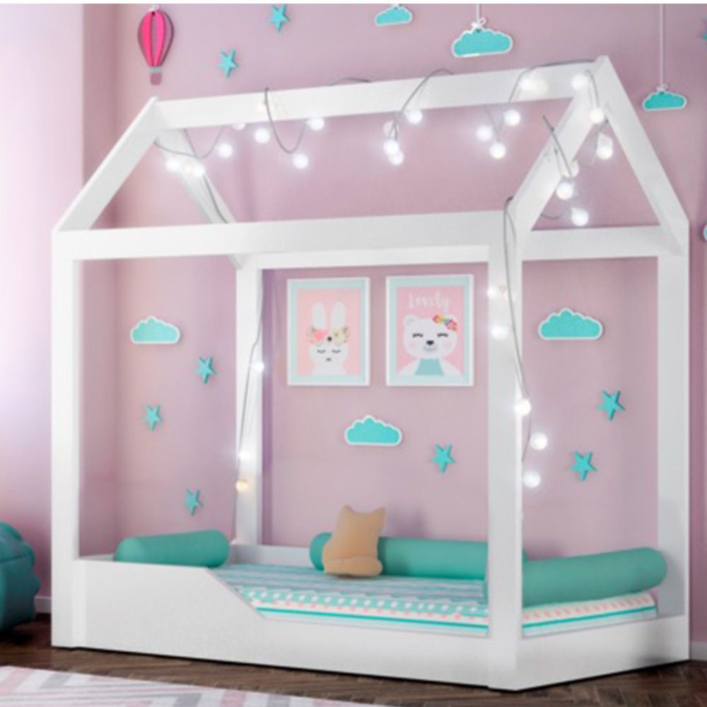 Mini Cama Montessoriana Crystal Peternella