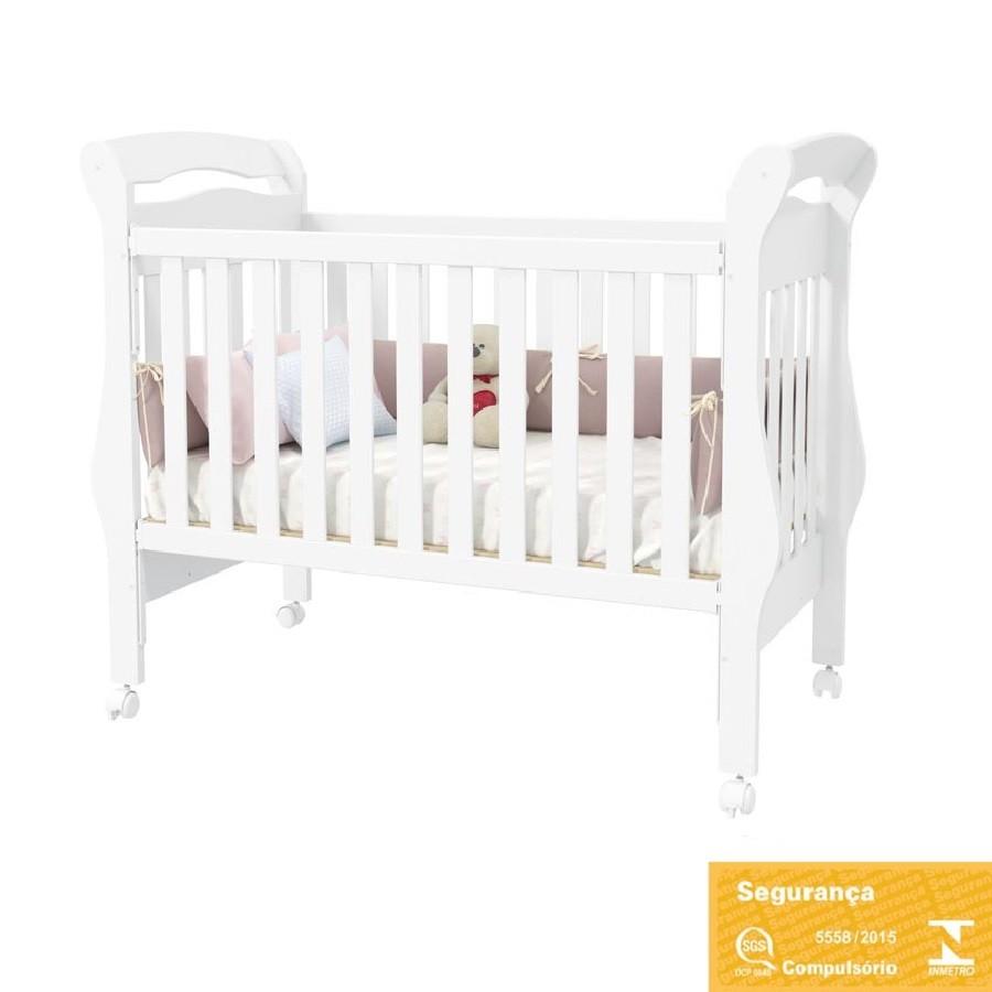 Quarto Completo Para Bebê Com Roupeiro Portas De Correr + Cômoda + Berço Mini Cama Fratelli Matic