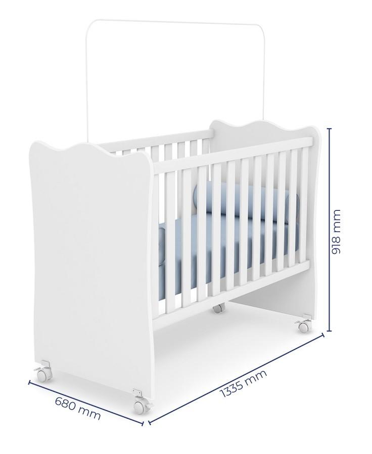 Quarto De Bebê Com Guarda Roupa + Cômoda Helena + Berço 102 - Phoenix Baby