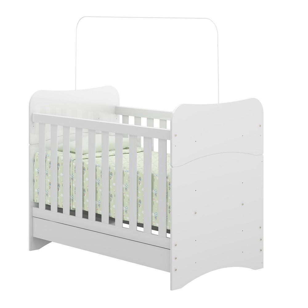 Quarto Para Bebê Com Guarda Roupa, Cômoda, Prateleira E Berço Tutti Frutti Multimóveis