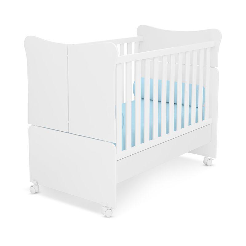 Quarto Para Bebê Guarda Roupa, Cômoda E Berço Mini Cama Doce Magia - Qmovi