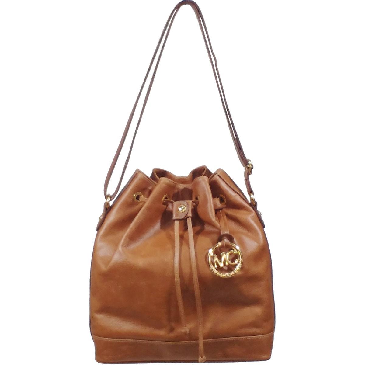 Bolsa De Couro Tipo Saco : Bolsa feminina tipo saco em couro leg?timo com al?a
