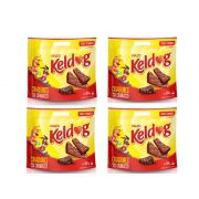 4 Pacotes de Bifinho para Cachorro Keldog Churrasco Petisco para cães 500g