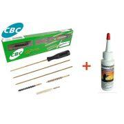 Kit De Limpeza Cbc Para Carabina 5,5mm + Oleo Corrosionx