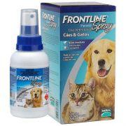 Anti Pulgas e Carrapatos Frontline Spray Cães e Gatos 100ml