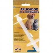 Aplicador de Comprimido Animalíssimo para Cães e Gatos - Seringa para dar remédio comprimidos a animais