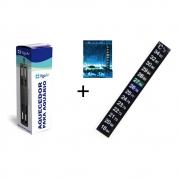 Aquecedor para Aquário 20w 15 a 20 litros + Termômetro Digital Vigoar