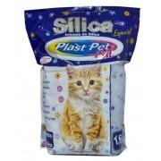 Areia Sílica Higiênica para Gatos 1,6kg  Plast Pet