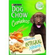 Biscoito para cães filhotes Petisco Nestlé Purina Dog Chow Carinhos Integral Junior 300g