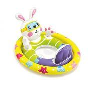 Boia Bote inflável para crianças Bichinhos com assento Intex até 23kg