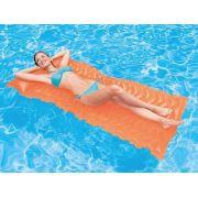 Boia Colchão inflável Bronzeador para piscina Colchão Esteira Laranja Intex 58807-L