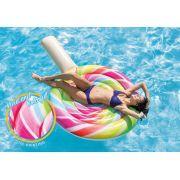 Boia Inflável Colorida Colchão de piscina Verão Pirulito Gigante Intex