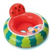 Boia com assento Melancia Intex para crianças de 1 a 2 anos até 15kg