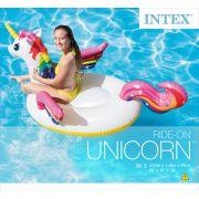 Boia Inflável para piscina Unicórnio Intex 57561 (Boia das Blogueiras Famosas)