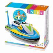 Bote Inflável para piscina Boia Jet Ski Intex 1,17m x 77cm