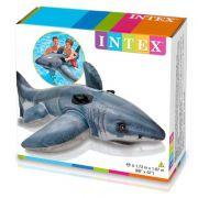 Boia Tubarão Branco Intex 1,73m x 1,07m cod 57525