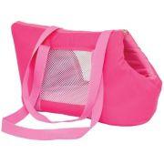 Bolsa De Transporte para Cães e gatos De Colo São Pet Modelo Marie N2 (40X21X25CM) Pink