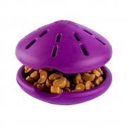 Brinquedo mordedor e porta petisco ou ração para Cães Twist n Treat Amicus M 11cm - libera petiscos