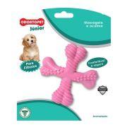 Brinquedo Mordedor para cachorro Spinner super resistente Odontopet mastigação para cães filhotes Rosa