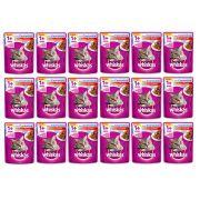 Caixa Whiskas Sachê Para Gatos Castrados Sabor Carne - Alimento úmido para Gatos castrados caixa 18 unidades de 85g