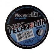 Chumbinho Technogun Nocaute 5,5mm 1,47g