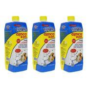 Combo 3 Genco Pet 1L - limpador, desinfetante, eliminador de odores e repelente de insetos
