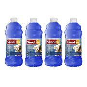 Combo 4un Desinfetante Limpador Eliminador de Odores de Ambiente Casa, Quintal Tradicional 2L Sanol  (8 Litros ao todo)