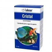 Condicionador de água de aquário Cristal Labcon Clarificante para água 15ml