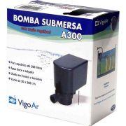 Bomba para Aquário Submersa A300 Vigo Ar 110v