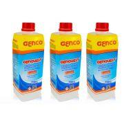 Genquest Inibidor De Manchas E Incrustações De Piscina Genco - 3 unidades 1L