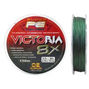 Linha Multifilamento Victoria Super 8x 0,34mm 150m