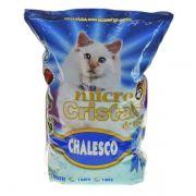 Micro Cristais de Sílica Chalesco 1,8Kg - Areia Sanitária para Gatos Micro Silica Chalesco