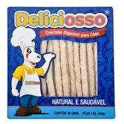 Ossinho Palito Natural para cães Osso para cachorro Deliciosso palito Fino 450g