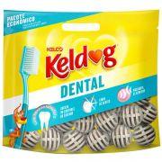 Osso para cachorro Kelco Keldog Dental Bolinha Pacote 350g controle de tártaro, hálito e higiene Bucal