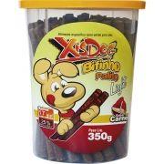 Palitinho para cachorro Light De Carne Pote Xisdog 350g