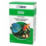 Parasiticida Elimina infestações na pele de peixes Ictio Labcon Alcon 15ml