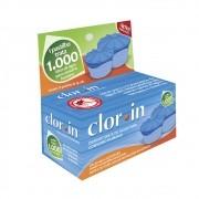 Pastilha de Cloro purificadora de água para consumo humano Clor-in 1000 litros