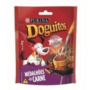 Petisco para cachorro Doguitos Medalhões de Carne Purina - 65g