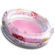 Piscina banheira Inflável para Crianças Colorida Princesas 70 Litros (75cm X 22cm)