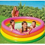 Piscina redonda inflável Colorida Intex 780 Litros 1,86cm