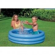 Piscina Inflável Azul Cristal 156 litros 1,14m x 25cm Intex 59416
