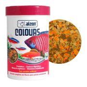 Ração de flocos para peixes Alcon Colours - realça a coloração dos peixes 20g